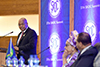 President Jacob G. Zuma and Incoming Chair of SADC, on the occasion of the 37th SADC Summit of Heads of State and Government, O R Tambo Building, Department of International Relations and Cooperation, Pretoria, South Africa, 19 August 2017.