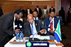 President Jacob Zuma and other Heads of State and Government meet for the SADC Double Troika Summit, Conference Centre, O R Tambo Building, Department of International Relations and Cooperation, Pretoria, South Africa, 18 August 2017.